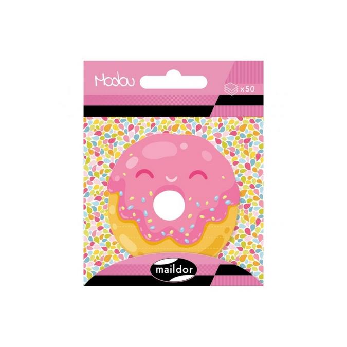 Bloc-notes adhésives Modou - Donuts