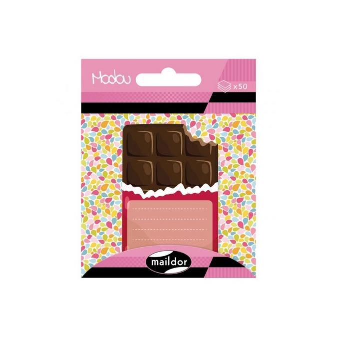 Bloc-notes adhésives Modou - Choco