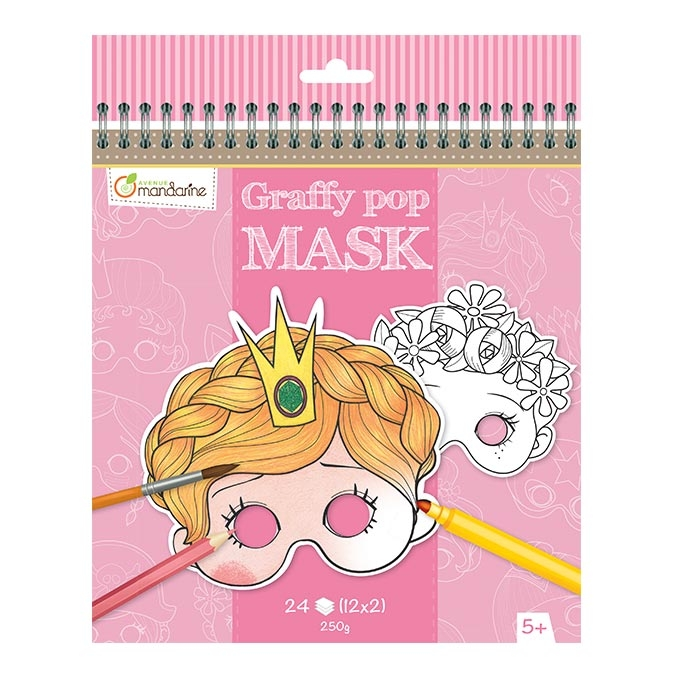 Masque Graffy Pop princesses