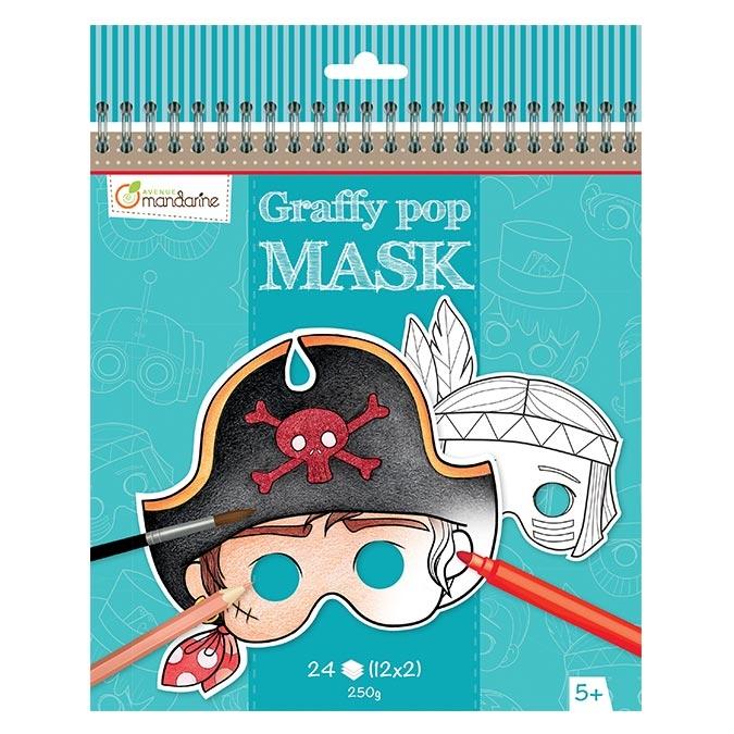 Masque Graffy Pop garçon