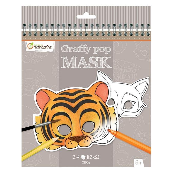 Masque Graffy Pop animaux