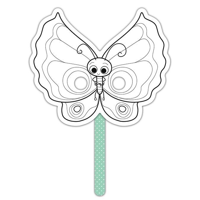 Masque Graffy Stick papillon