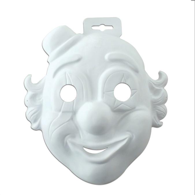 Masque clown enfant 19 x 20cm
