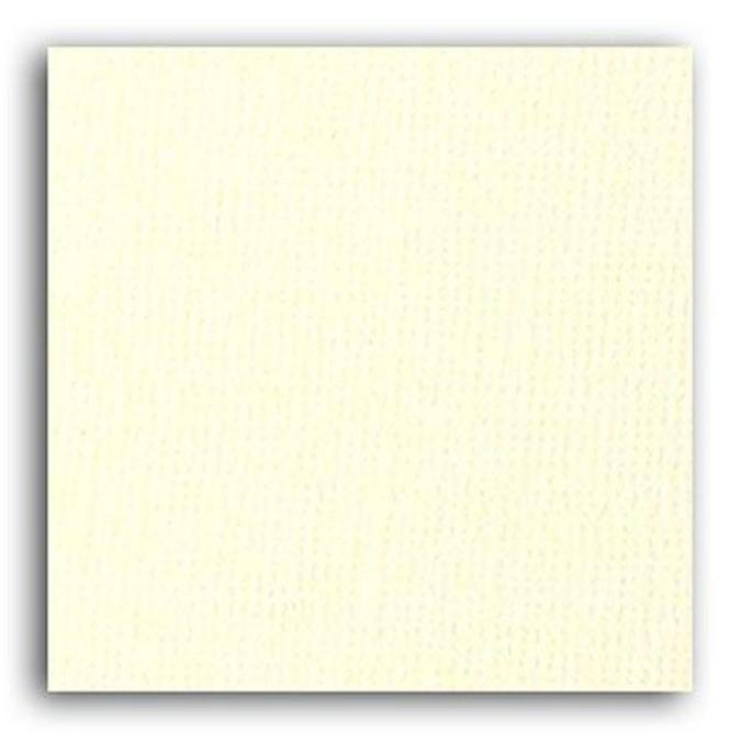 Feuille de papier uni ivoire 30,5 x 30,5 cm