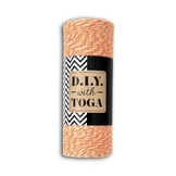 Ficelle bicolore Baker's Twine orange 100 m