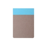 Bloc-notes Memo pad bleu 12 x 8,5 cm