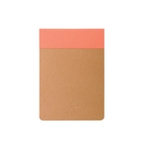 Bloc-notes Memo pad orange 12 x 8,5 cm