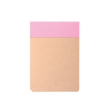 Bloc-notes Memo pad rose 12 x 8,5 cm