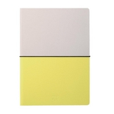 Bloc-notes Notebook jaune A5