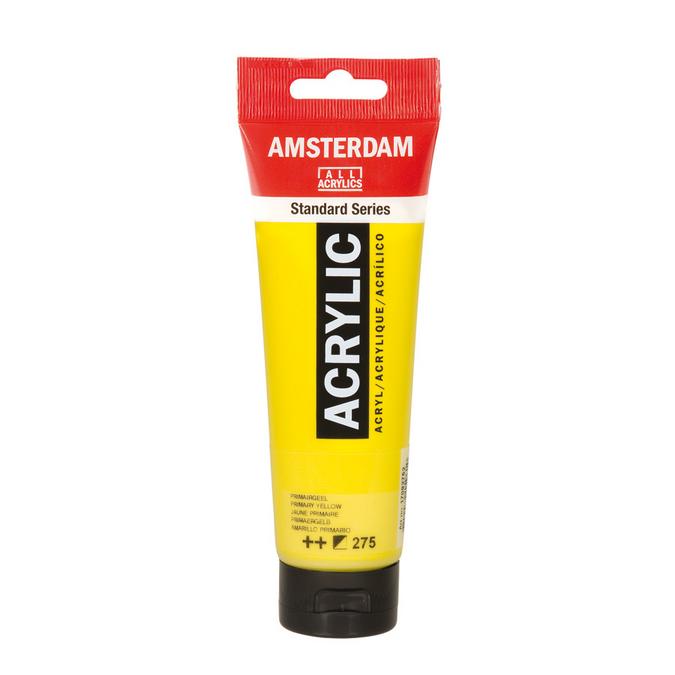 Peinture acrylique Amsterdam 120 ml 104 Blanc de zinc *** ST