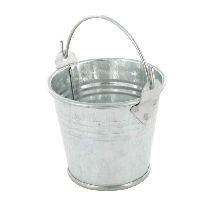 Seau en zinc 5,5 x 4,5 cm