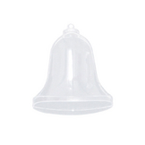 Cloche en plastique transparent 8,5 x 8,7 cm