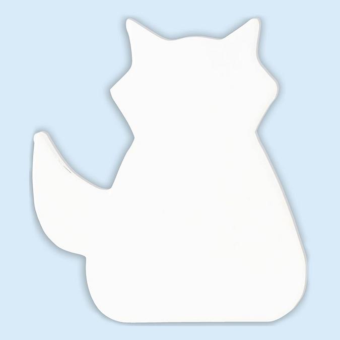 Objet en papier mâché symbole renard 12 cm