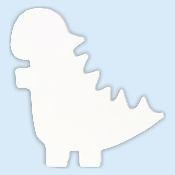 Objet en papier mâché symbole dinausaure 12 cm