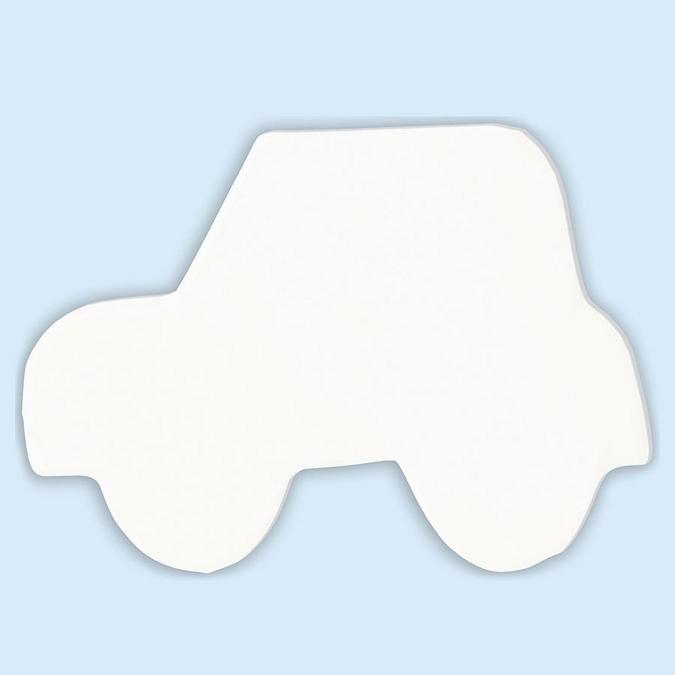 Objet en papier mâché symbole voiture 12 cm