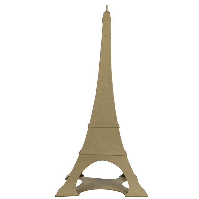 Objet en papier mâché tour Eiffel 56 x 24 x 24 cm