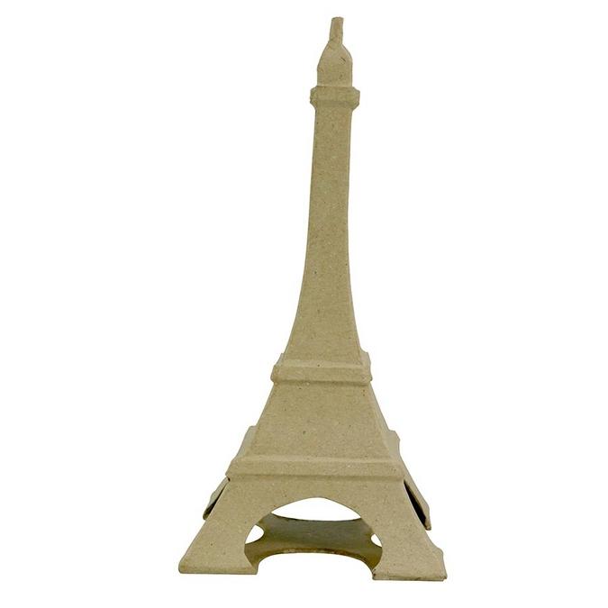 Objet en papier mâché tour Eiffel 22 x 11 x 11 cm