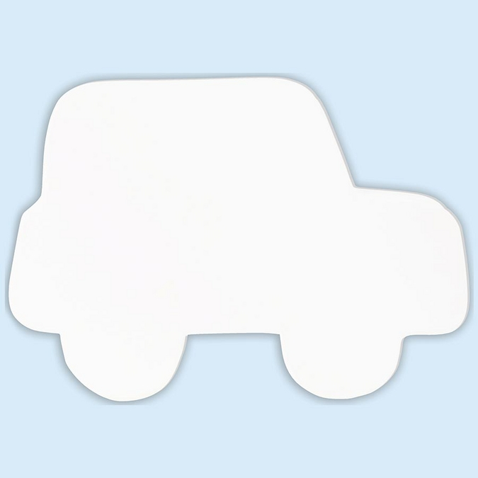 Objet en papier mâché symbole voiture 20.5 cm