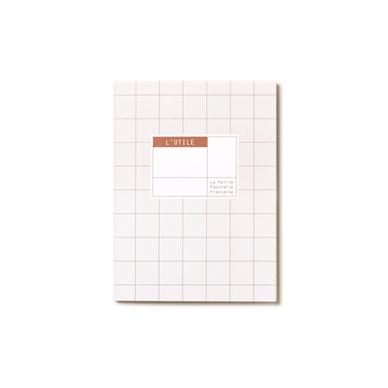 carnet de poche 13 5 x 10 cm l 39 utile amande la petite papeterie fran aise chez rougier pl. Black Bedroom Furniture Sets. Home Design Ideas