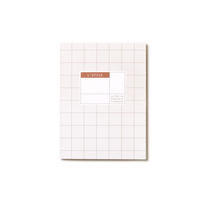 Carnet de poche 13,5 x 10 cm - L'utile amande