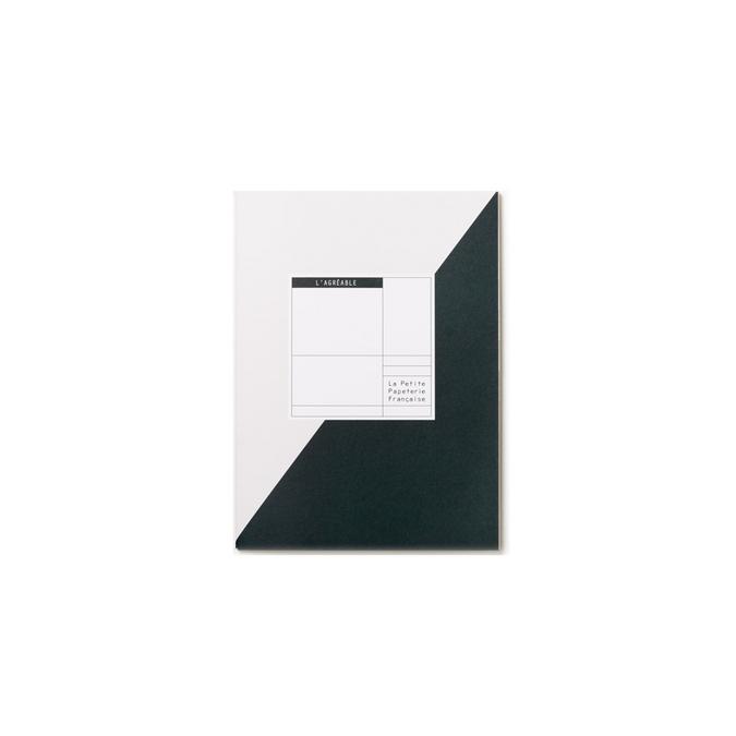 Carnet à projets 16,5 x 22 cm - L'agréable vert sapin