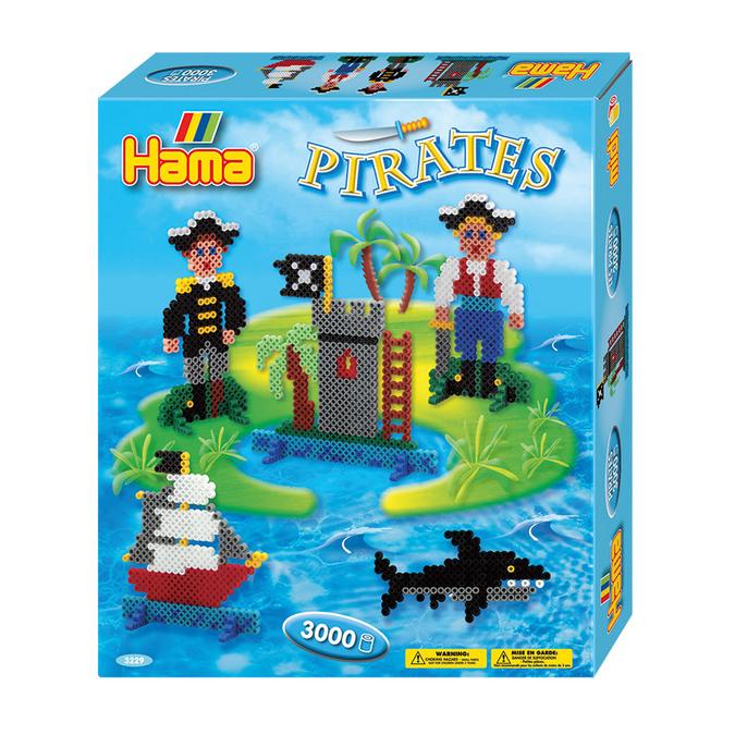Perle à repasser Midi - Les pirates