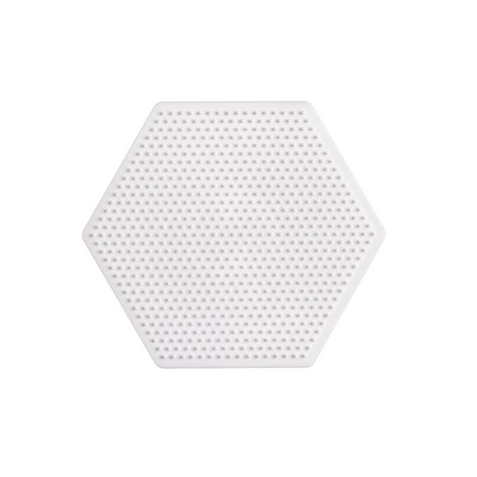 Plaque perle à repasser Mini - Hexagone