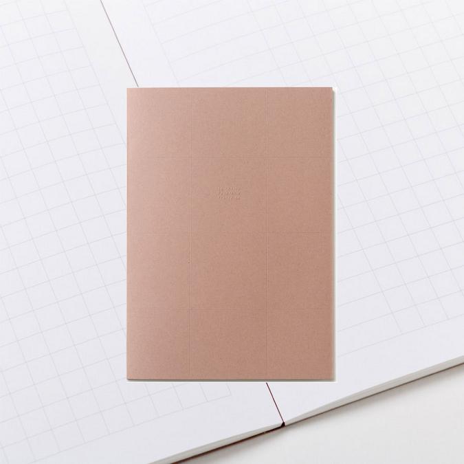 Bloc papier A4 grands carreaux - Le bloc feuilles olive