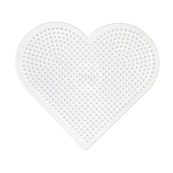 Plaque perle à repasser Mini - Cœur