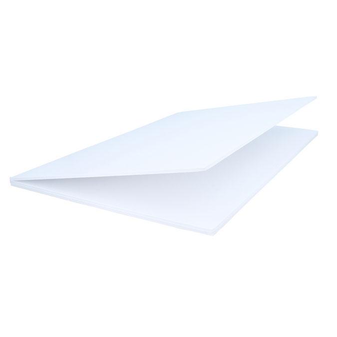 Triptyque de présentation blanc 3 mm panneaux raisin