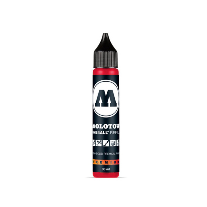Encre acrylique pour marqueur One4All 30 ml 013 - Traffic red primaire