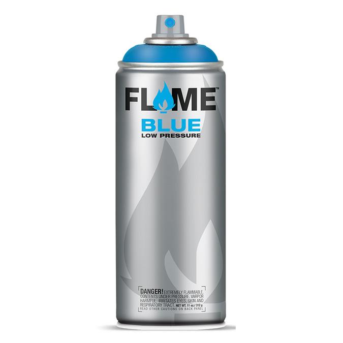 Bombe de peinture acrylique Flame Blue 400 ml 312 - Rouge feu