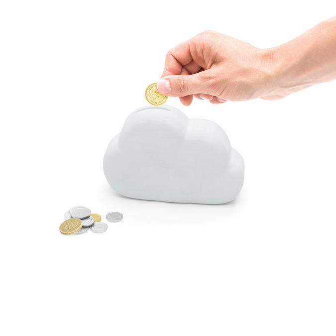 Tirelire nuage - 15 cm
