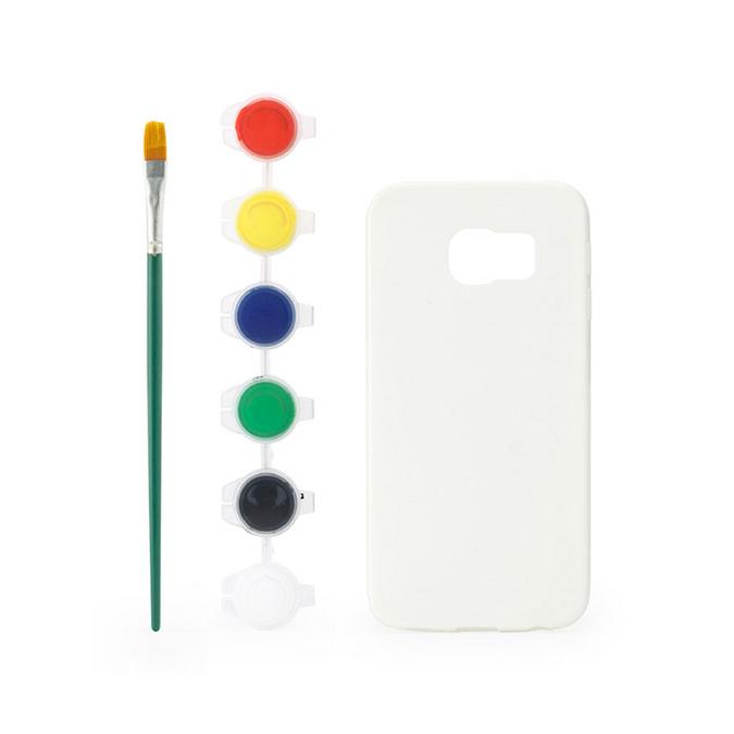 Etui à peindre pour Galaxy S6 Edge avec peinture