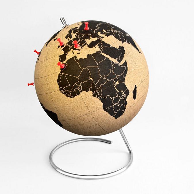 Globe en liège - 25 cm