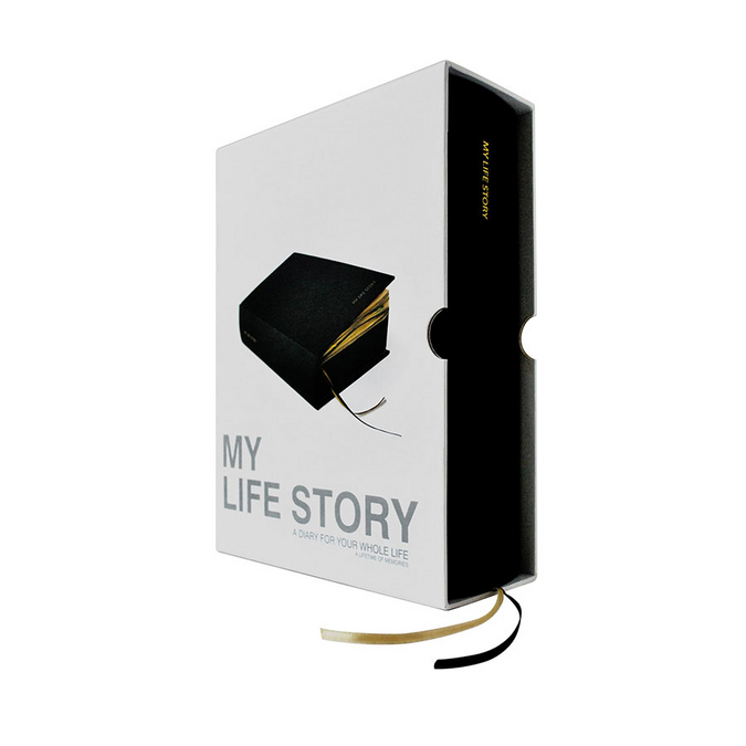 Journal intime My life story 1080 pages - 16,3 x 22,7 x 6,8 cm