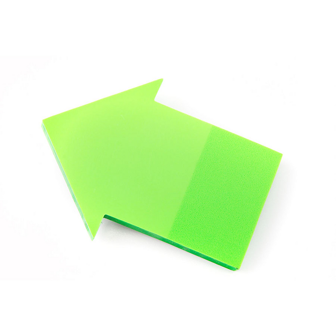Note adhésive flèche - 6,5 cm