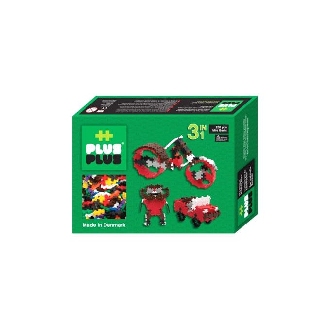 Jeu de construction Box Mini basic 3 en 1 - 220 pièces