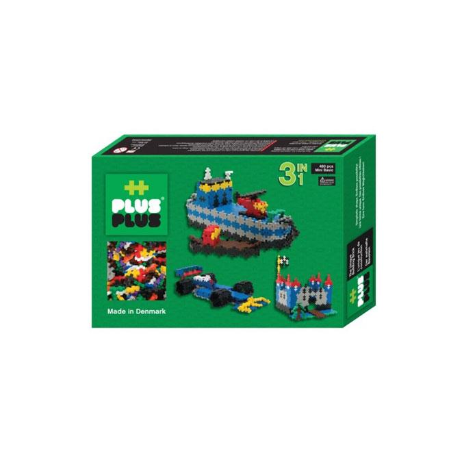 Jeu de construction Box Mini basic 3 en 1 - 480 pièces
