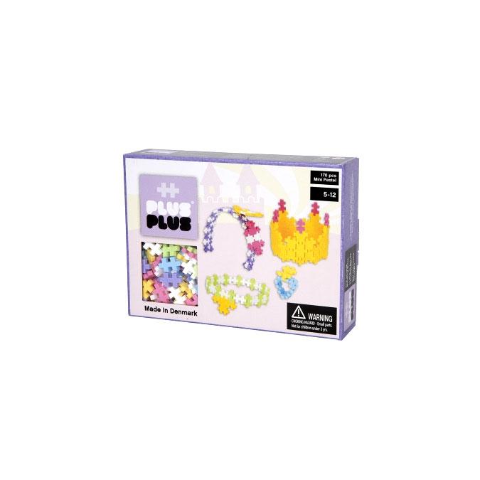 Jeu de construction Box Mini parure pastel - 170 pièces