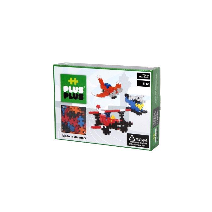 Jeu de construction Box Mini aviation basic - 170 pièces