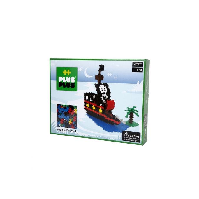Jeu de construction Box Mini bateau pirate basic 1060 pièces