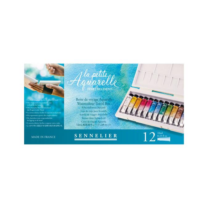 Aquarelle fine boite de 12 tubes