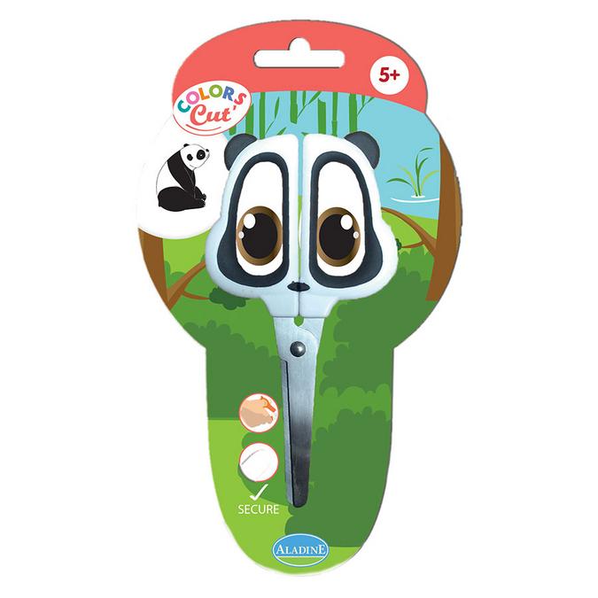 Ciseaux enfant Color's Cut modèle panda
