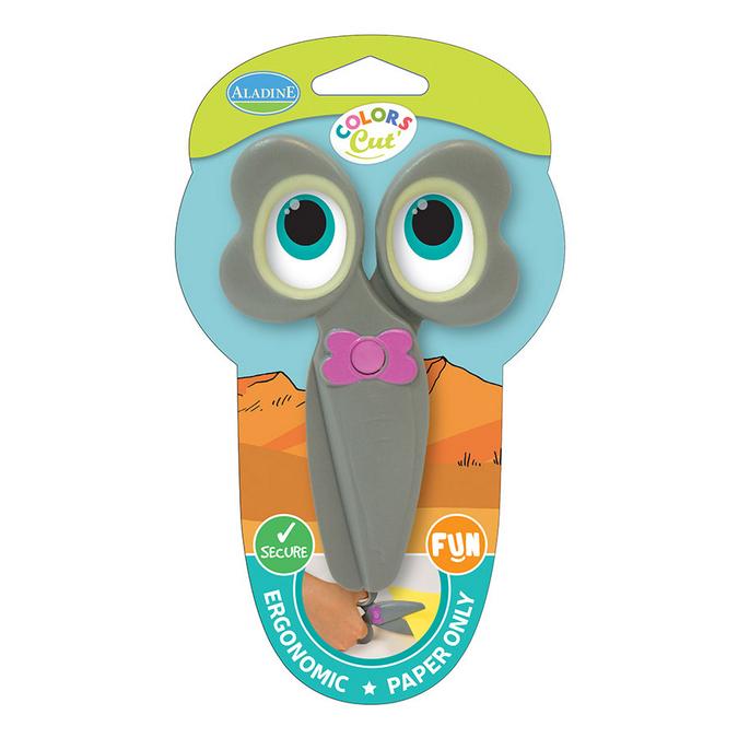 Ciseaux enfant Color's Cut modèle éléphant