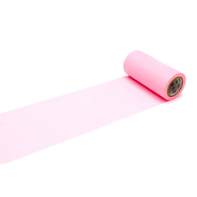 Ruban décoratif adhésif largeur 10 cm - Uni rose pink