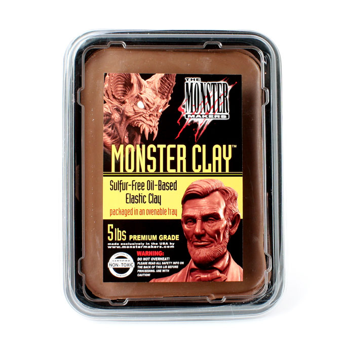 Pâte à modeler Monster Clay Premium 2,27 kg - Médium