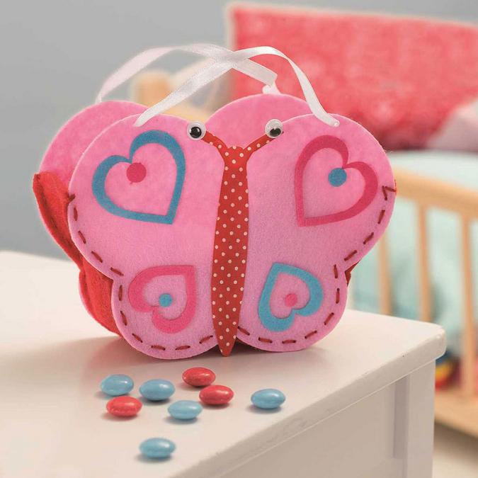 Kit créatif textile - Sac papillon