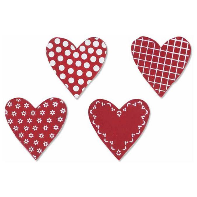 Embellissement cœurs par 8