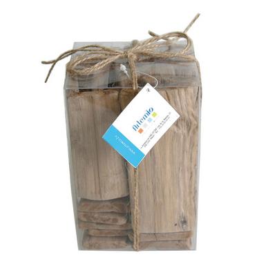 Bois flott en bloc 500 g artemio chez rougier pl for Magasin bois flotte